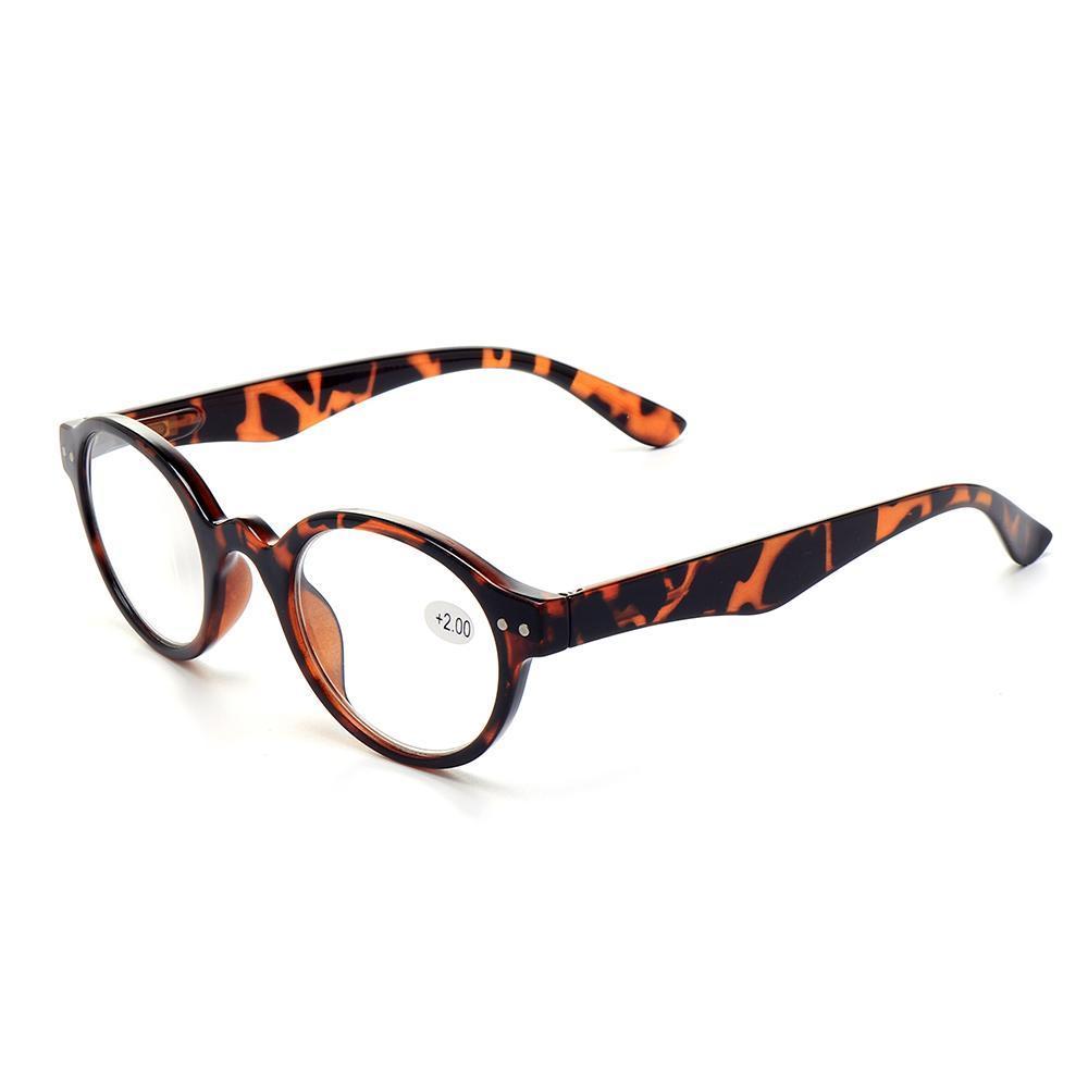 264079e279 150 Degree Men Women Round Full Frame Reader Reading Glasses Stylish Retro Computer  Glasses