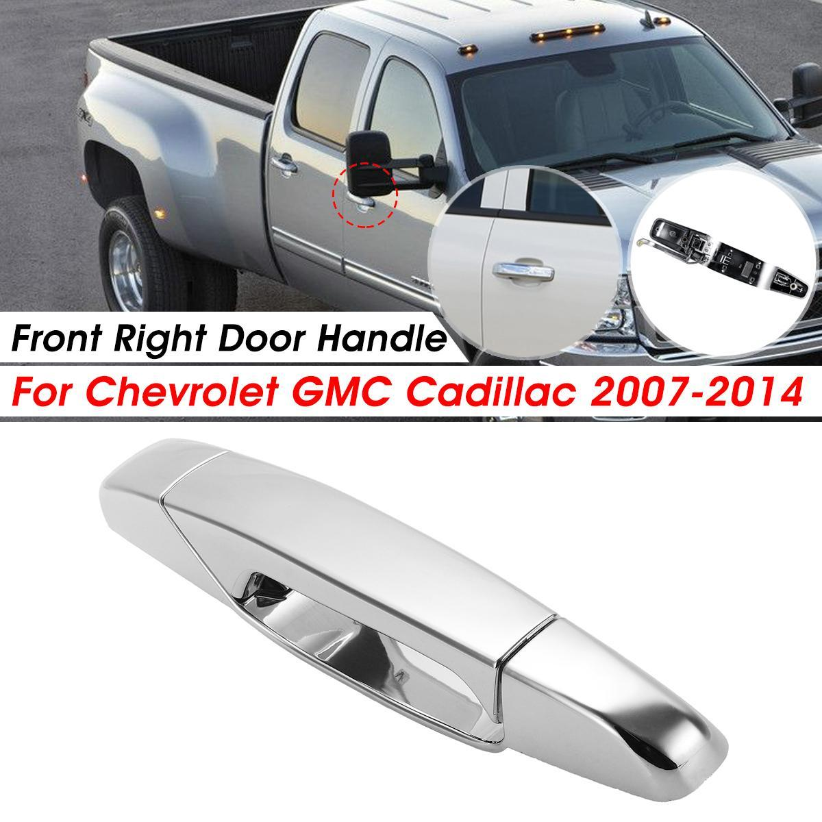 fits Buick Chevrolet Outside Outer Exterior Door Handle Chrome Passenger Front