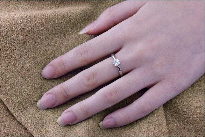 Rose Gold Allow Finger Ring for Woman