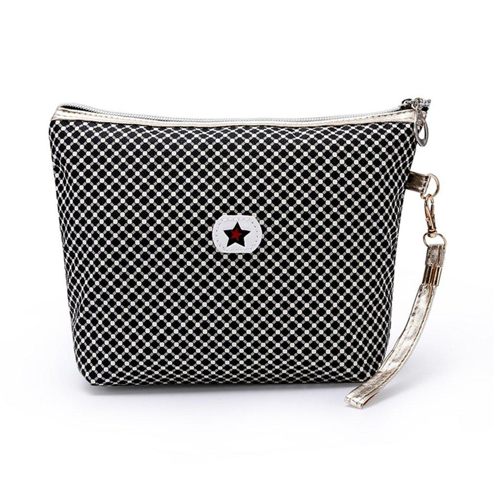 f7ba3124ad5d Pentagram Portable Flat Bag Cosmetic Bag Portable Beauty Pouch Bag Toiletry