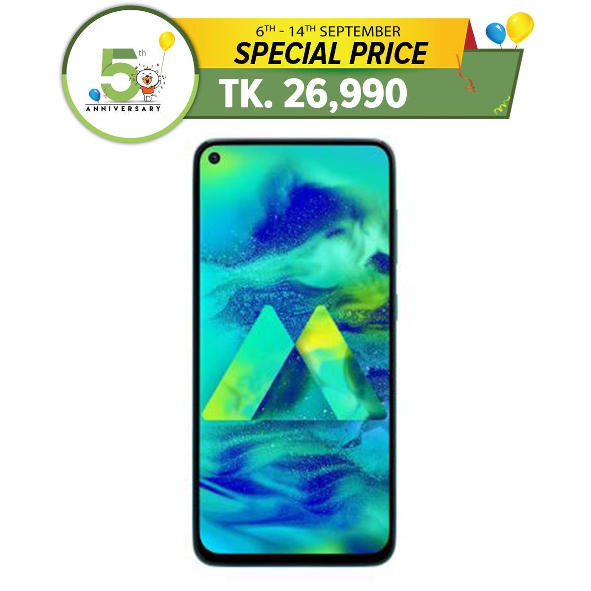 Samsung Galaxy M40 - Smartphone - 6 3