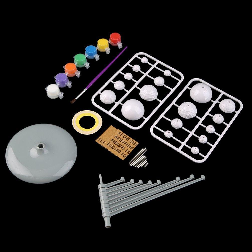 UR Solar System Planetarium Model Kit Astronomy Science Project DIY Toy  Kids Gift