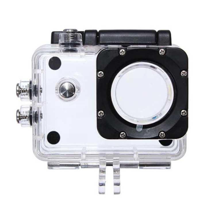 Underwater Waterproof Dive Housing Protective Case for SJ4000 Camcorder Camera Helmet