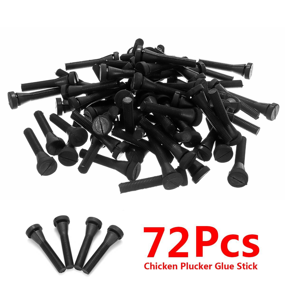 72Pcs Chicken Plucker Picker Poultry Fingers Duck Goose Hen Heavy Duty  Plucking