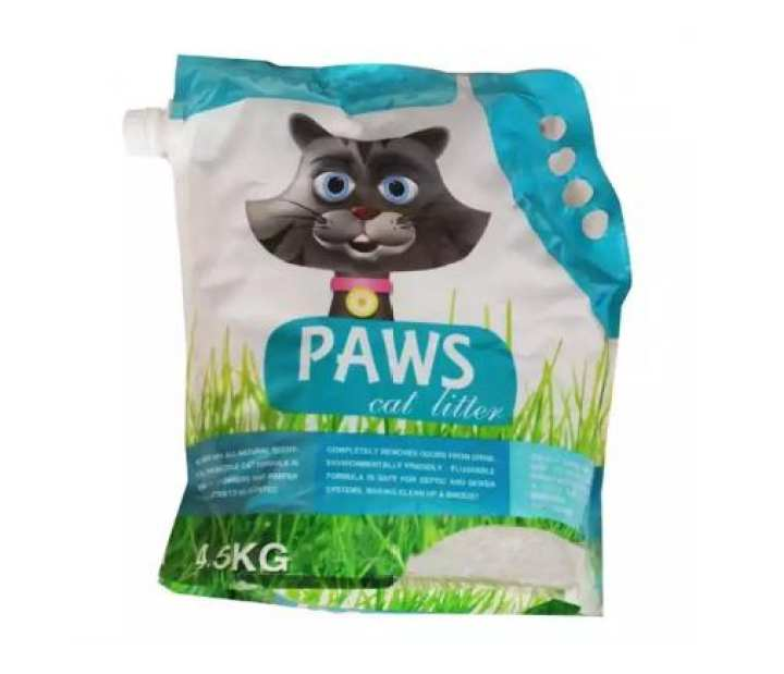 PAWS Cat Litter (Orange)