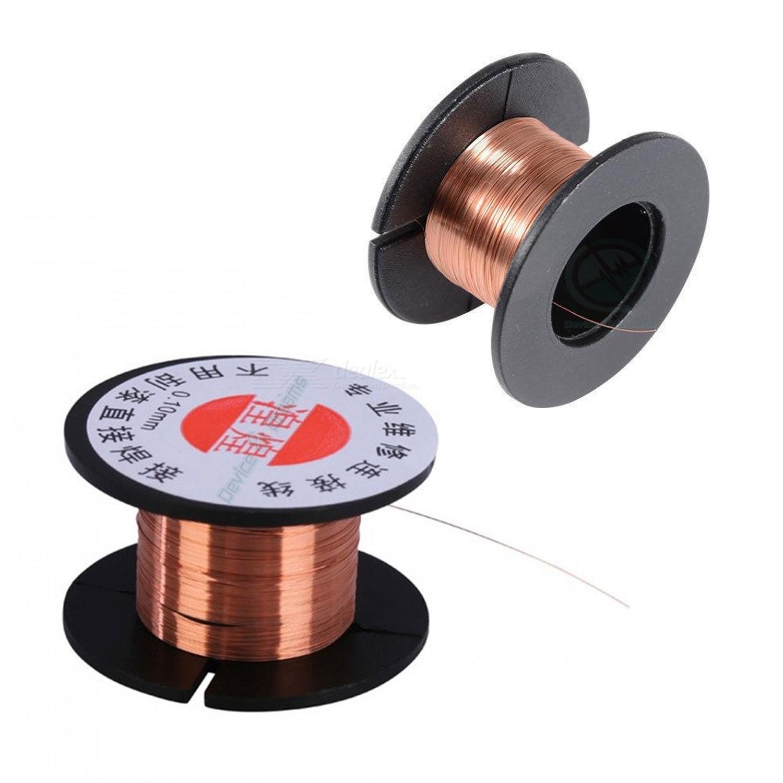Pure Copper 0 1mm PCB Link Jumper Wire (2 Piece)