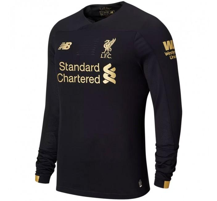 reputable site 8fcc5 9ecf2 2019/20 Liverpool Goalkeeper Home Long Sleeve Jersey (China Quality)