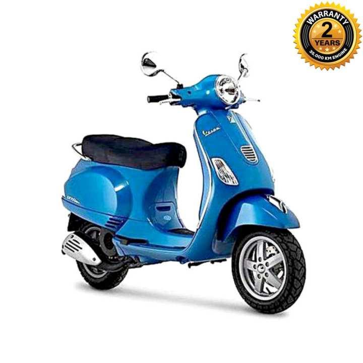 LX 125cc Scooter - Azure Blue