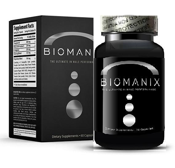 BIOMANIX Sexual Dysfunction And Penis Longer Capsule for Men _60Pcs