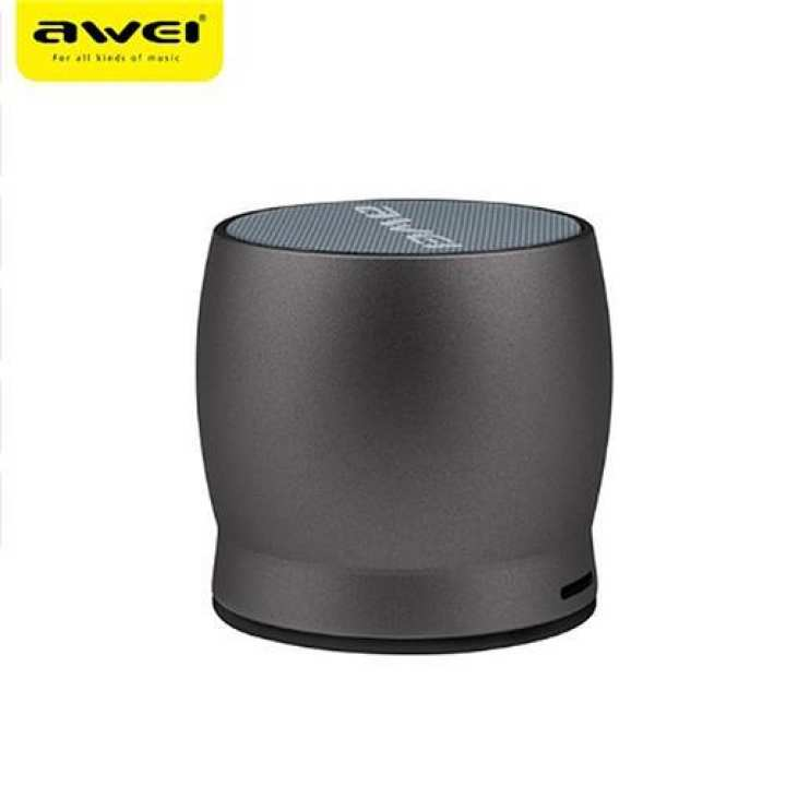 AWEI Y500 Mini Wireless Bluetooth Speaker Metal Stereo Music Hands-free Calls Support AUX/TF