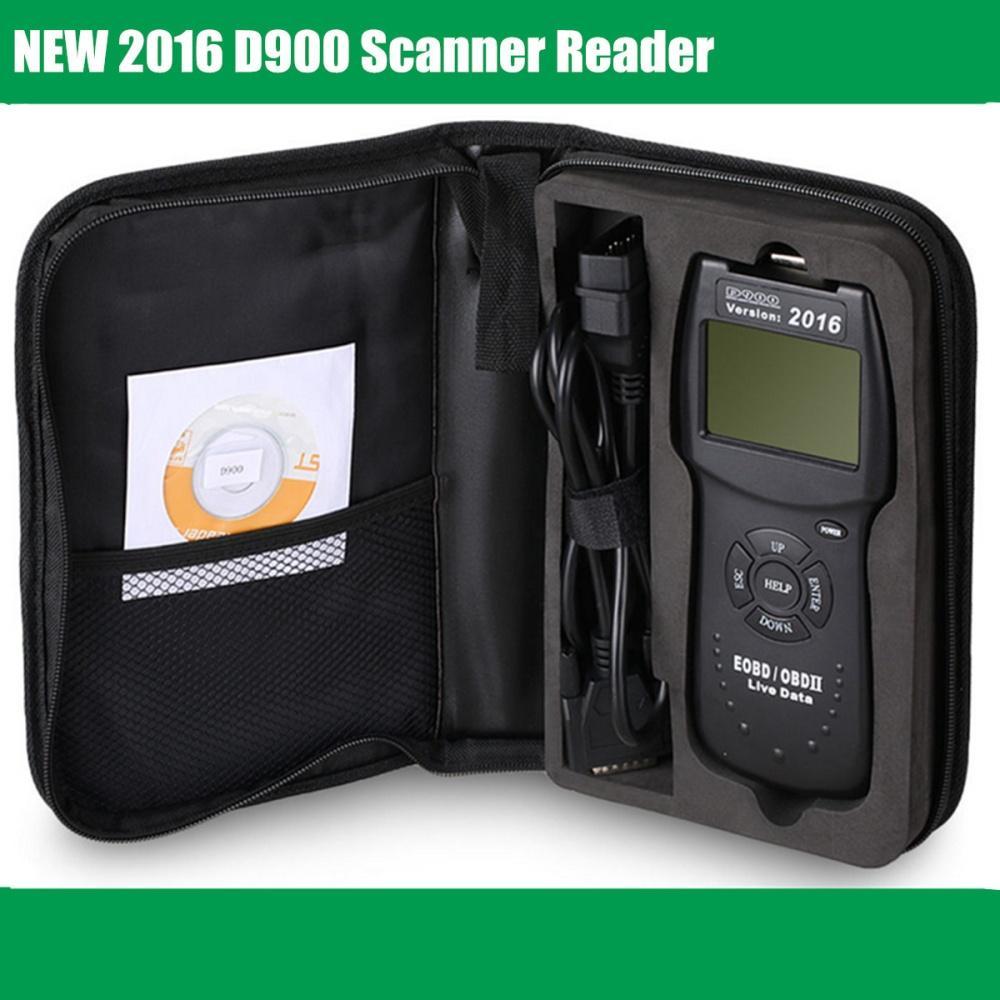 2016 D900 Universal OBD2 EOBD Car Fault Code Reader Scanner Diagnostic Tool