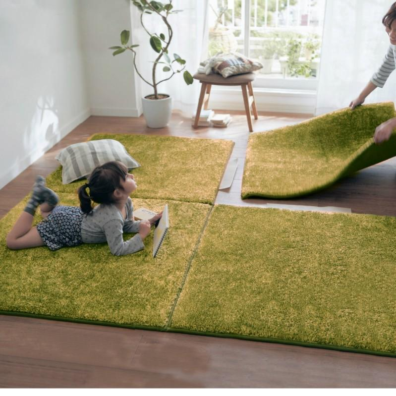 Soft Plush Rugs Anti-Skid Area Dining Room Home Bedroom Carpet Floor Mat Decor #