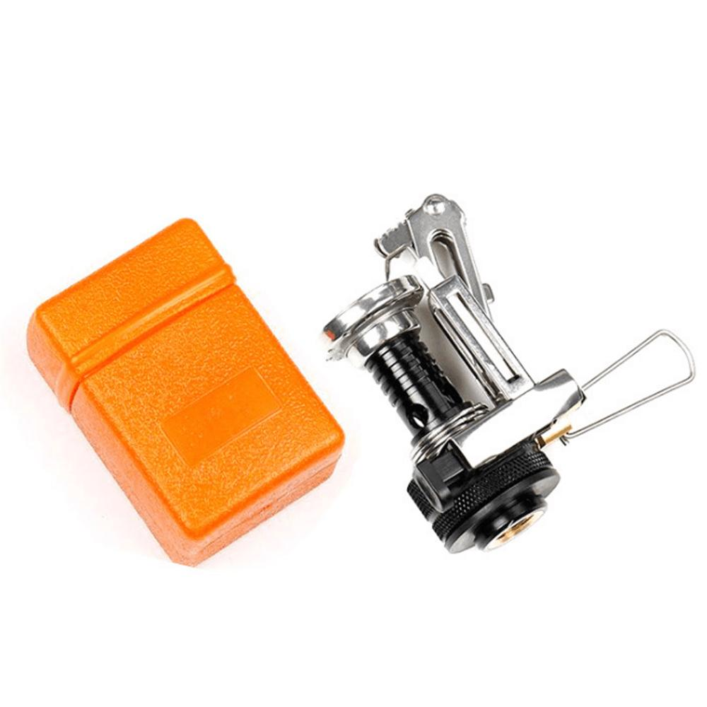 Outdoor Portable Stainless Steel Foldable Mini Picnic Pocket Gas Burner Stove