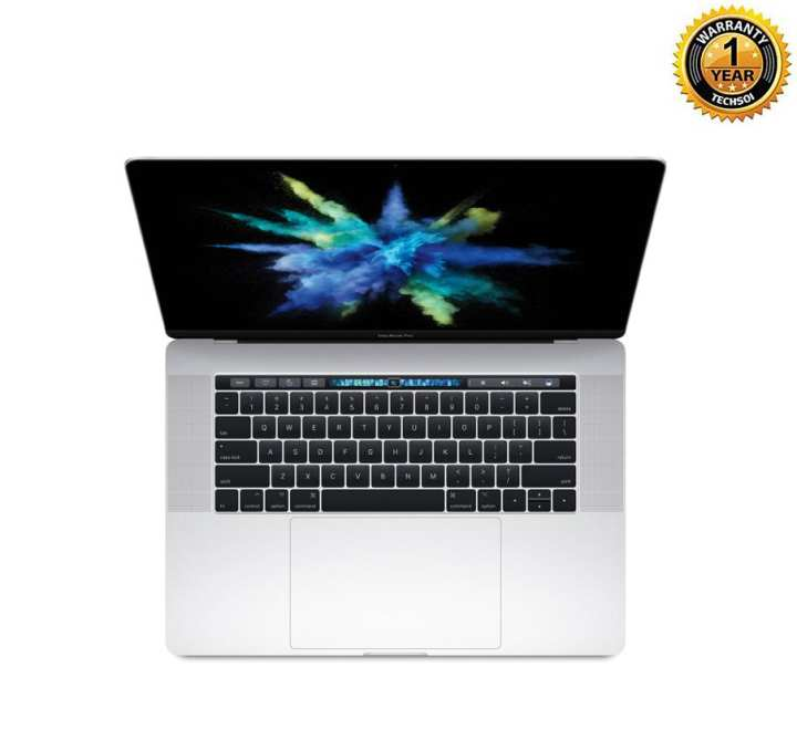 "APPLE MacBook Pro ( MPTU2LL/A )  i7 (2.8 GHz)-16GB-256GBSSD- with AMD Radeon Pro 555 2GB-15.4"" Retina Display with Touch Bar–Silver"