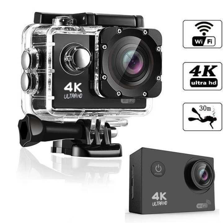 Sport Action Camera DVR DV Camcorder Waterproof Remote 1080P 4K HD