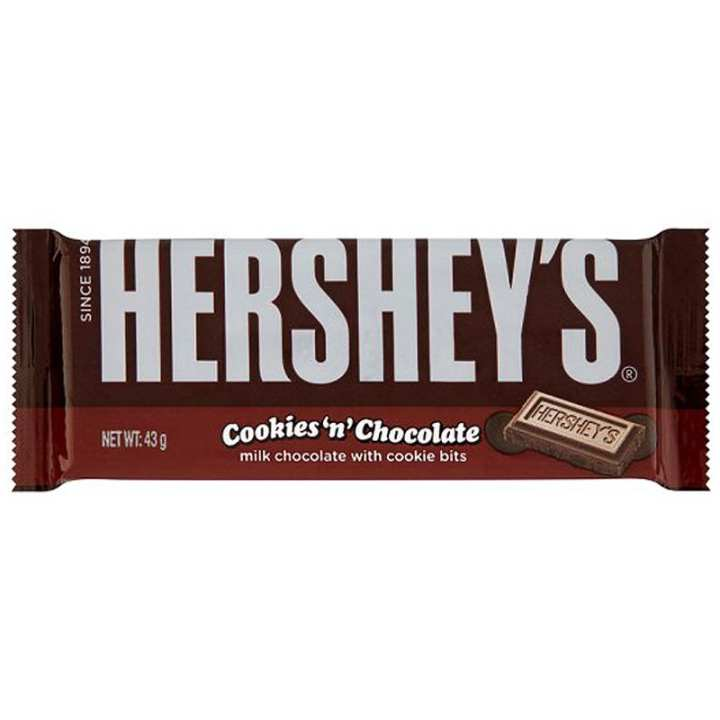 Hershey's Cookies 'N' Chocolate Bar - 43 gm