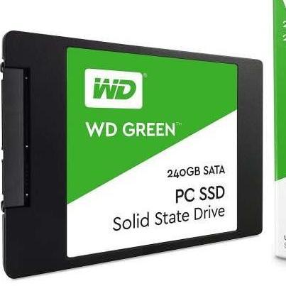 WD Green 240GB Or 120GB 2 5in SATA III 6GB/s Solid State Drive