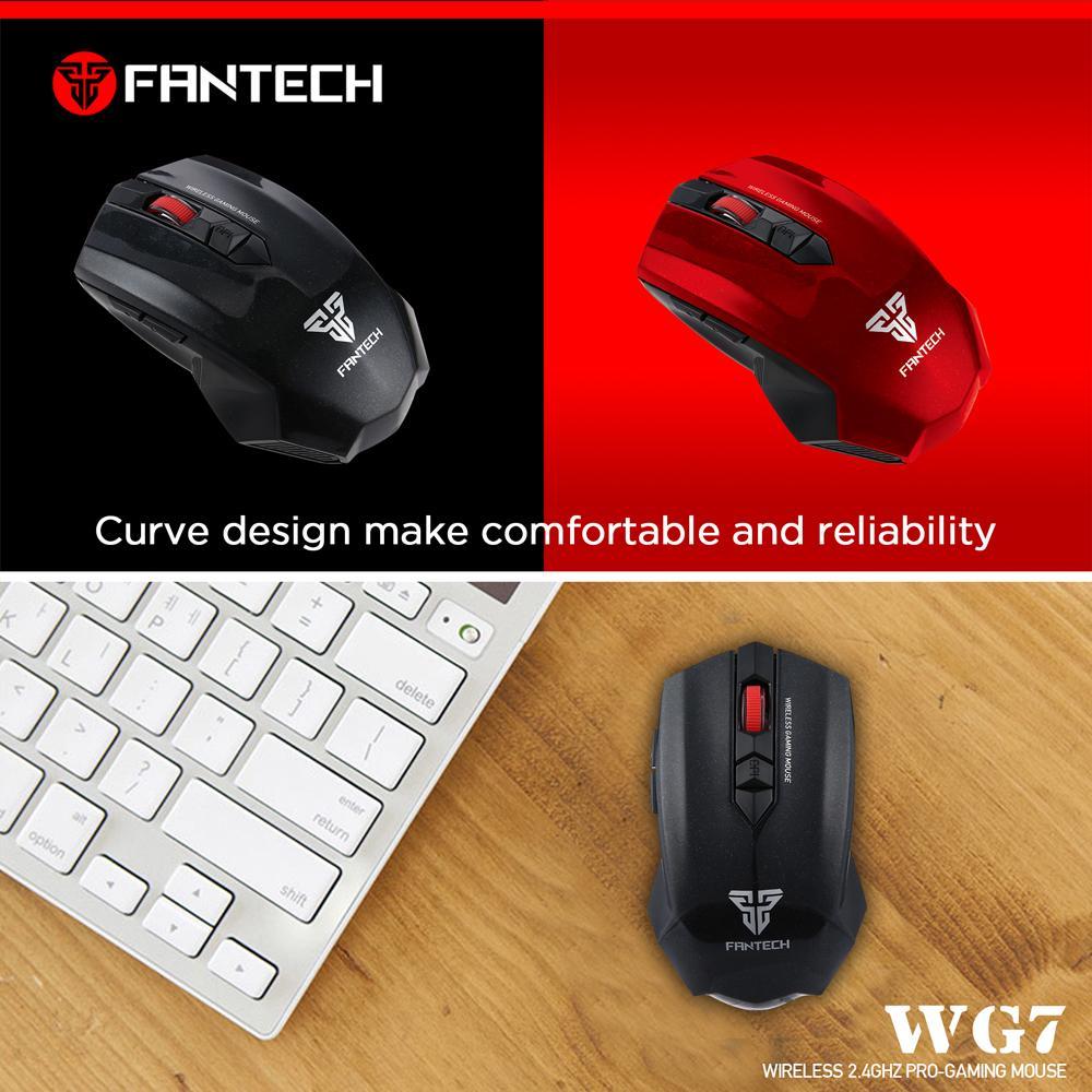 6e5b3eb3835 Fantech - GAREN WG7 Wireless Gaming Mouse: Buy Online at Best Prices in  Bangladesh | Daraz.com.bd