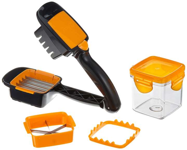 Nicer Dicer Quick 5 in 1 - The hand-held chopping, slicing and dicing machine that cuts in a second