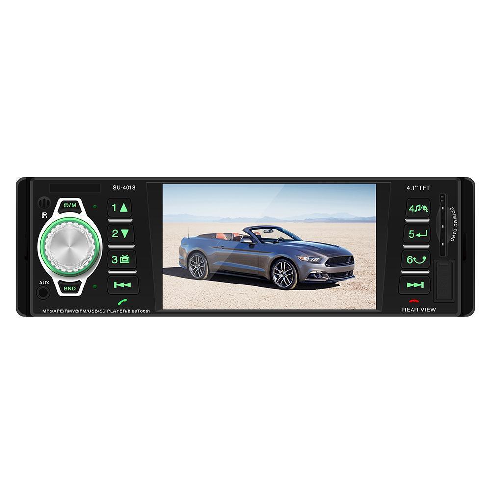 SWM-4018 4in Bluetooth Car Stereo MP5 Player USB AUX FM Radio Head Unit