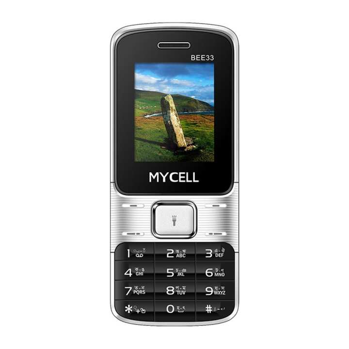 """MyCell Bee 33 Feature Phone - 1.77"""" - Black"""