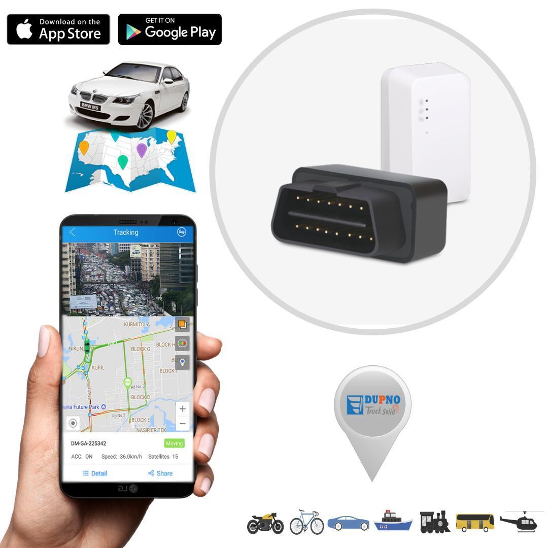 DUPNO OBD GPS Tracking System