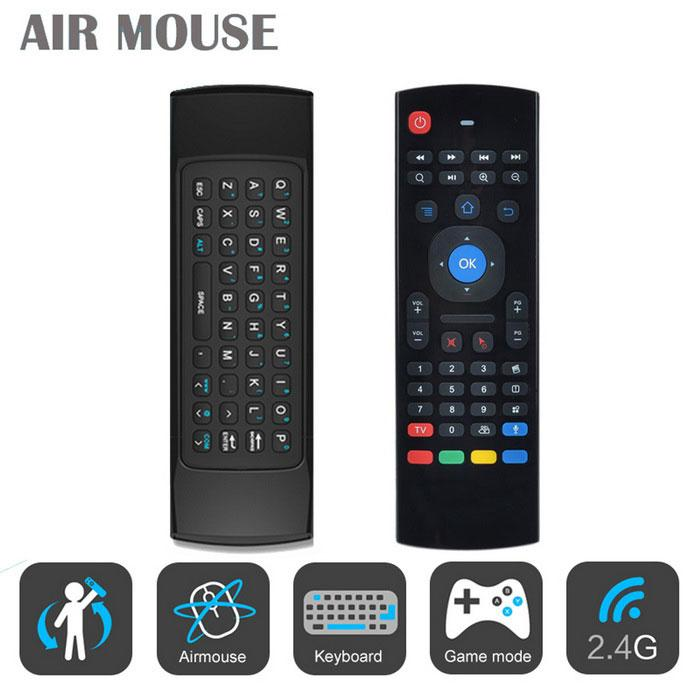 Mini 2 4G Wireless Fly Air Mouse Keyboard Remote For Android PC Smart TV Box