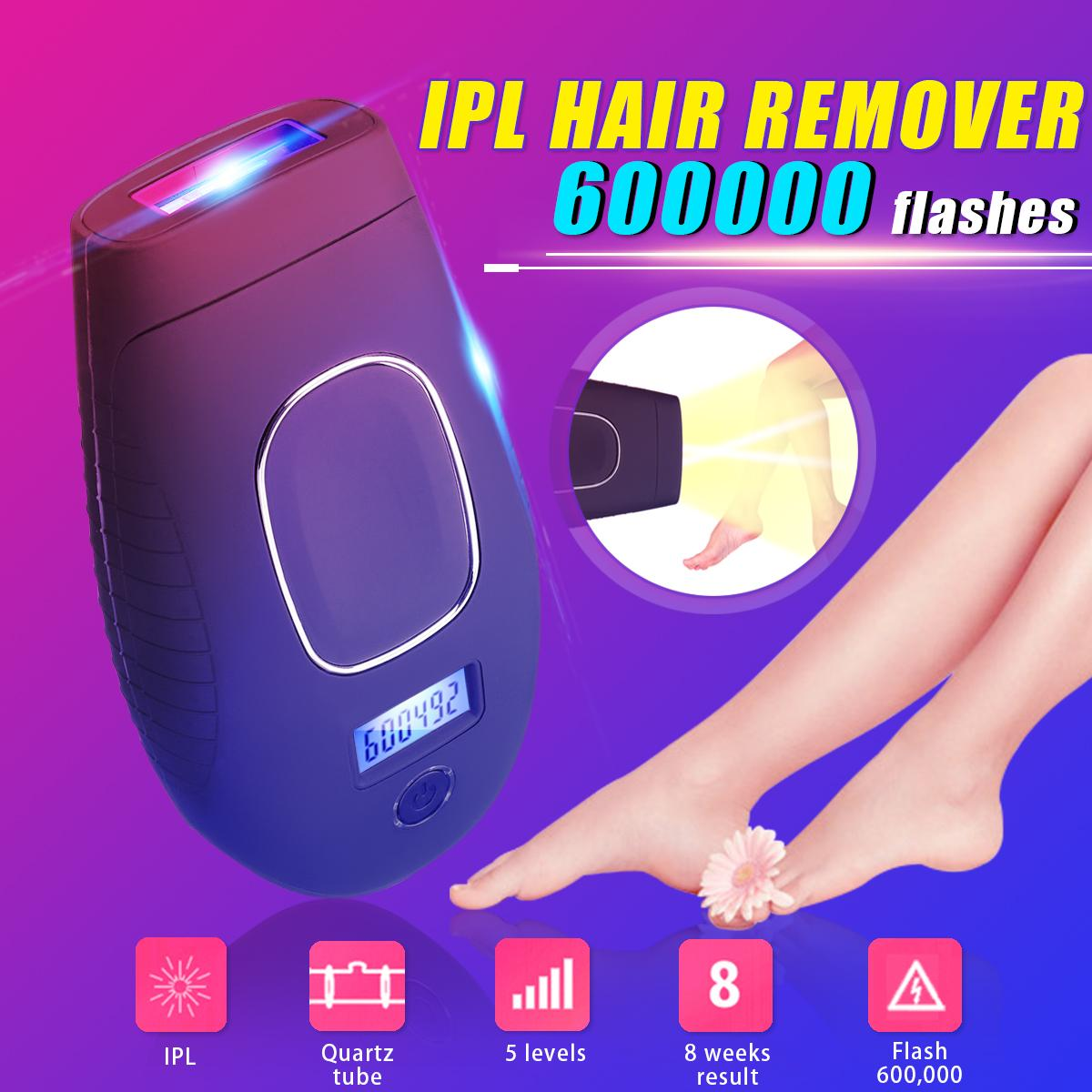 6in1 600000 Flawless Ipl Permanent Hair Removal Machine Painless