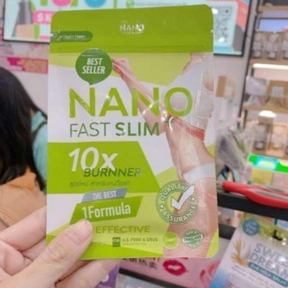 Nano Fast Slim 45 Capsules Fat Burner Burns 10x Faster Weight Loss Slimming Body Shaper
