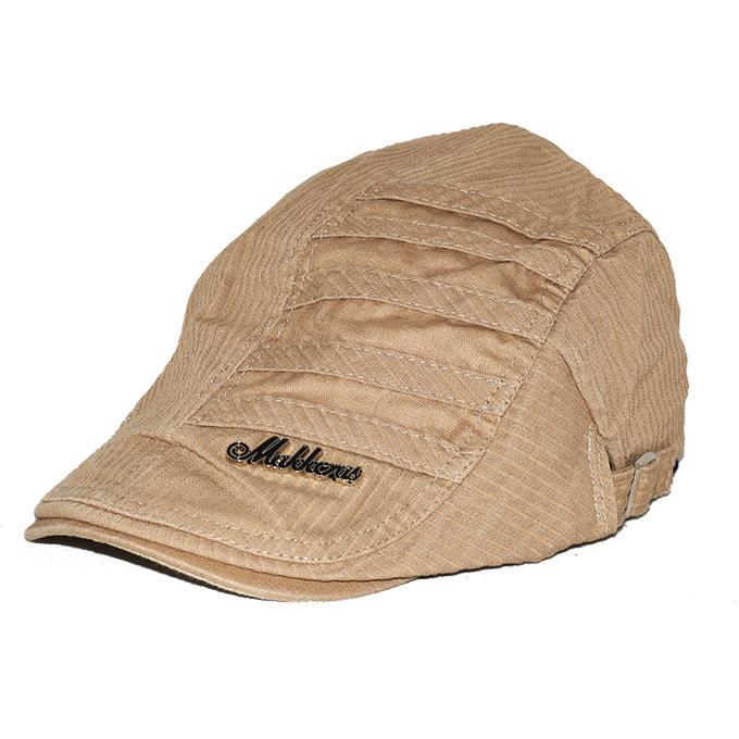e7526fd64c8429 Men New Flat Cap Peaked Hat Golf Beret Gentlemen Denim Duckbill Hats