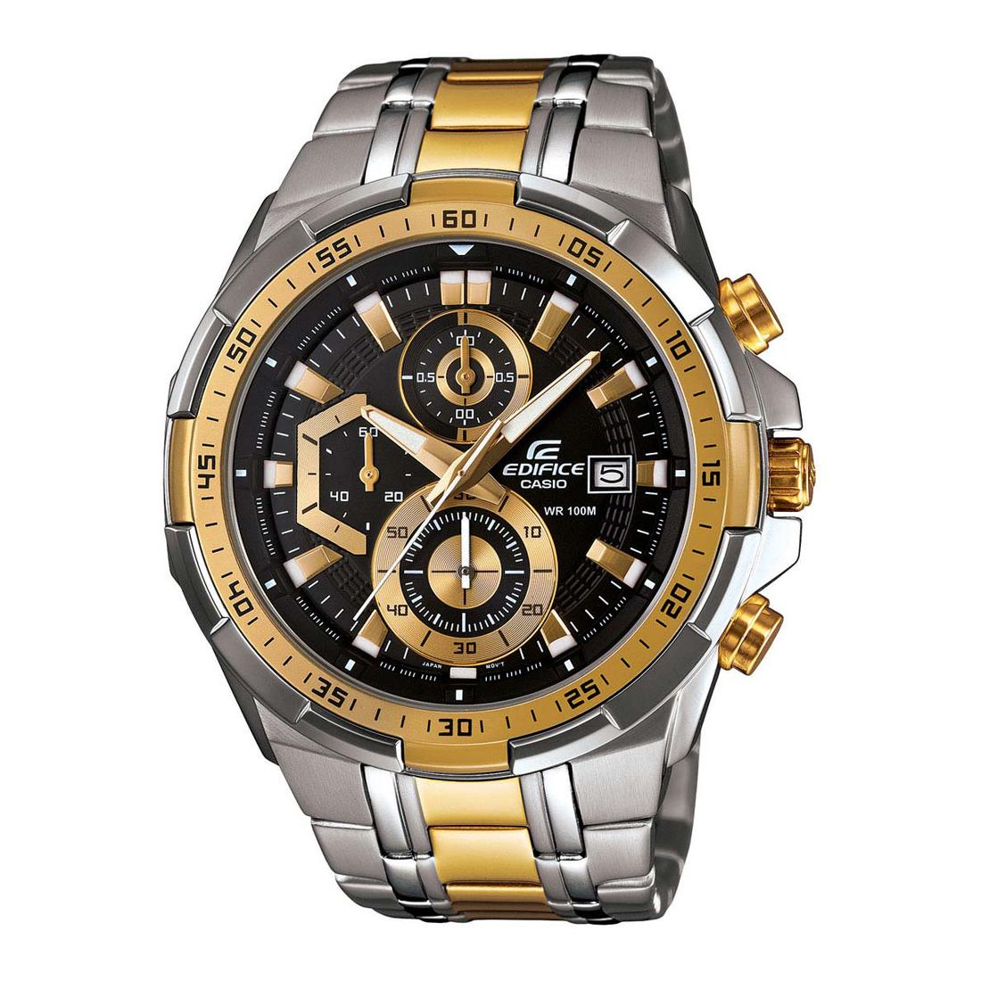 149b415a6d4b Casio Edifice EFR-539SG-1AVUDF Analog Wrist Watch For Men - Silver and