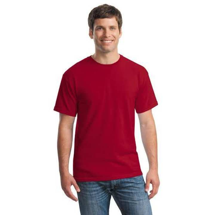 Red T-shirt for men