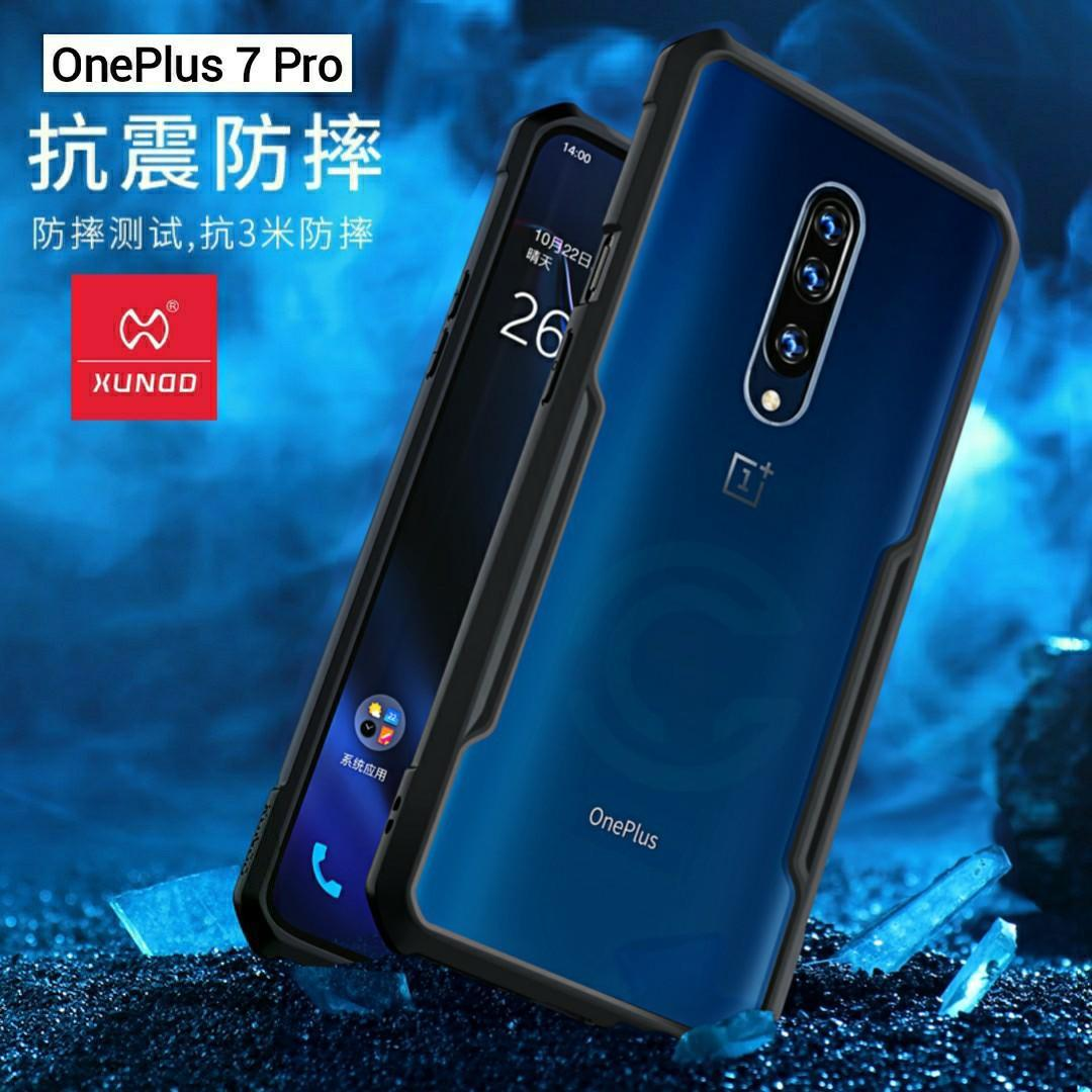 24Gadget Oneplus 7 Pro 100% Brand New Original XUNDD Military Shockproof  OnePlus 7 Pro Case Cover Casing
