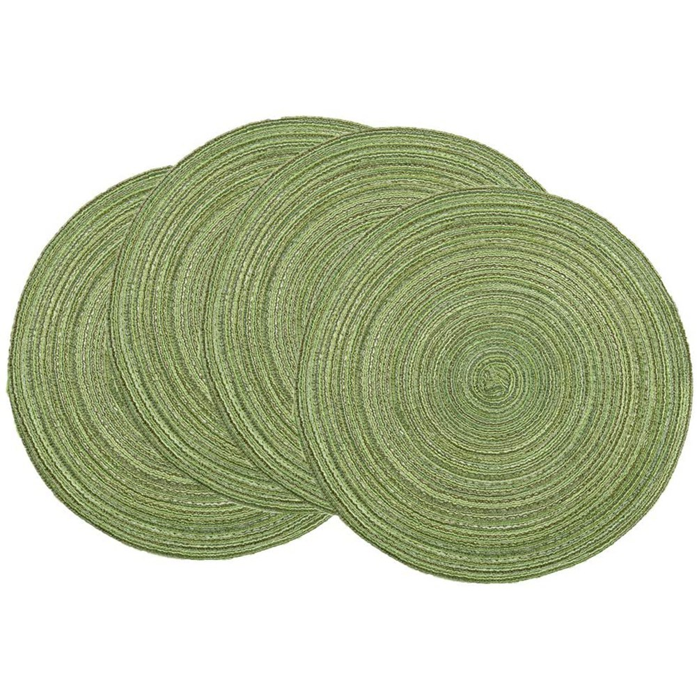Round Placemats Set Of 4 Round Table Placemats Braided Cotton Placemats 15 Inch For Kitchen Dining Table Holiday Party Buy Online At Best Prices In Bangladesh Daraz Com Bd