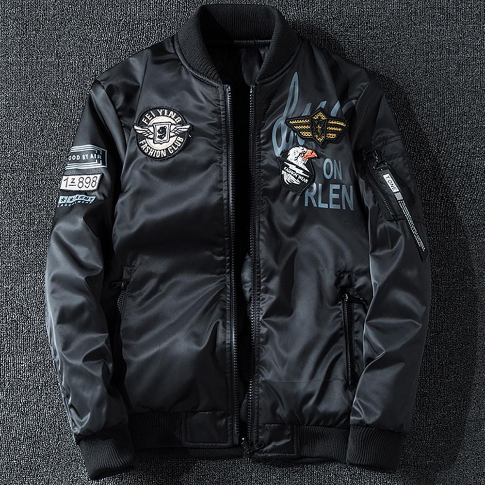 2019 Men's Autumn Winter New Wear Cotton Padded Jacket On Both Sides Collar  Coat