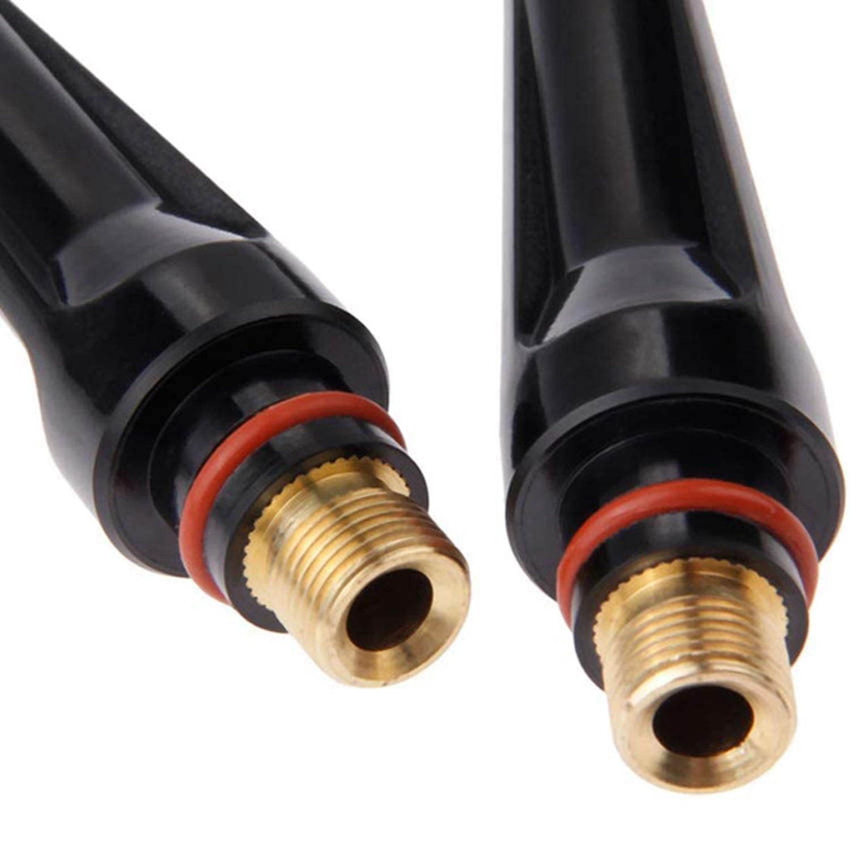 68pcs TIG Torch Consumables Accessories KIT Back Cap//Collet Body//Alumina Nozzle