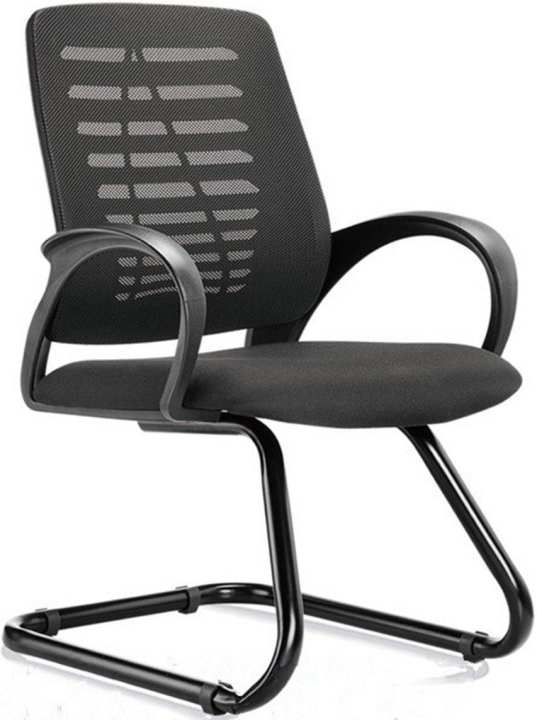 GE-060 Mesh Chair Visitor Meeting Chair-Black