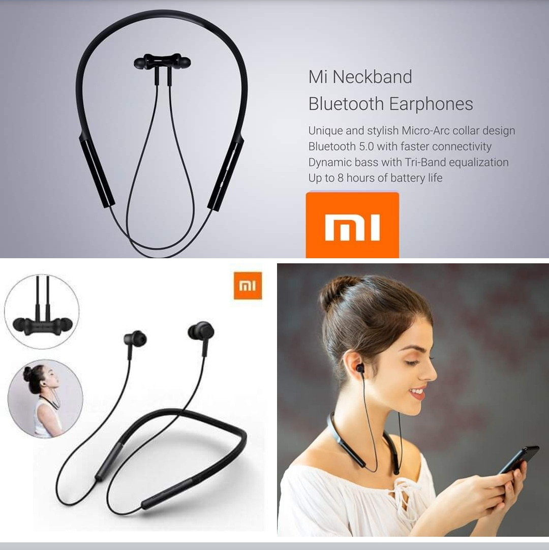 Neckband Bluetooth Earphones With Ultra Deep Bass Bluetooth 5 0 Buy Online At Best Prices In Bangladesh Daraz Com Bd