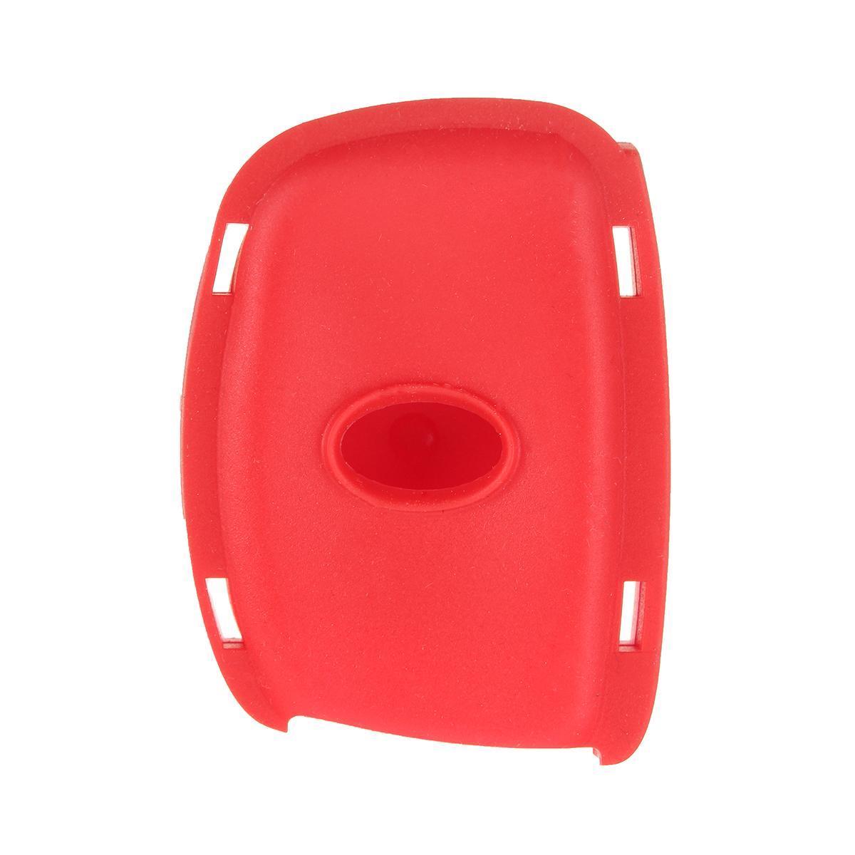 3 Buttons Silicone Key Fob Cover Case For Hyundai i30 IX35 Elantra Verna  Tucson #RED