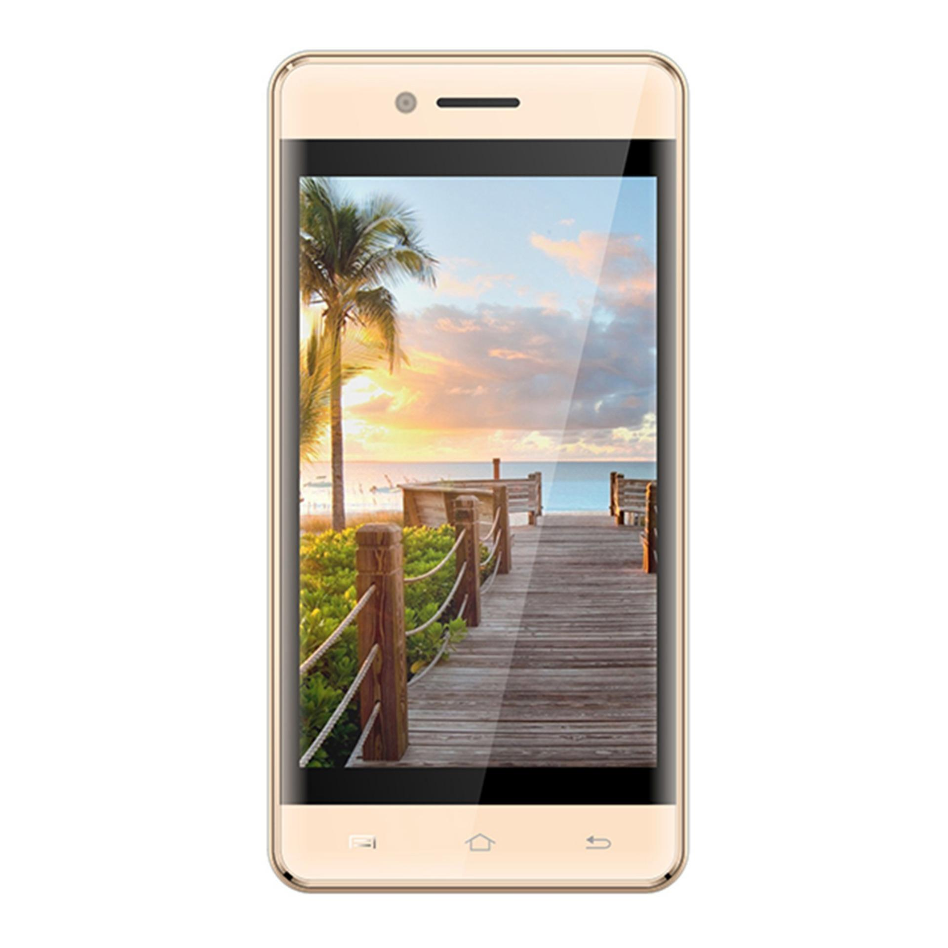 "Symphony E90 - Smartphone - 4"" - 512MB RAM - 8GB ROM - 2MP Camera - Gold"