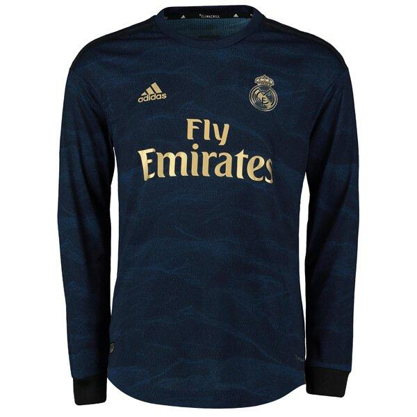check out 58b0a b61b6 Real Madrid 2019/20 Away Jersey - Long Sleeve