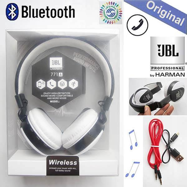 58119eb5412 Product details of JBL Wireless Bluetooth Headphone High Professional MS Stereo  Earphone