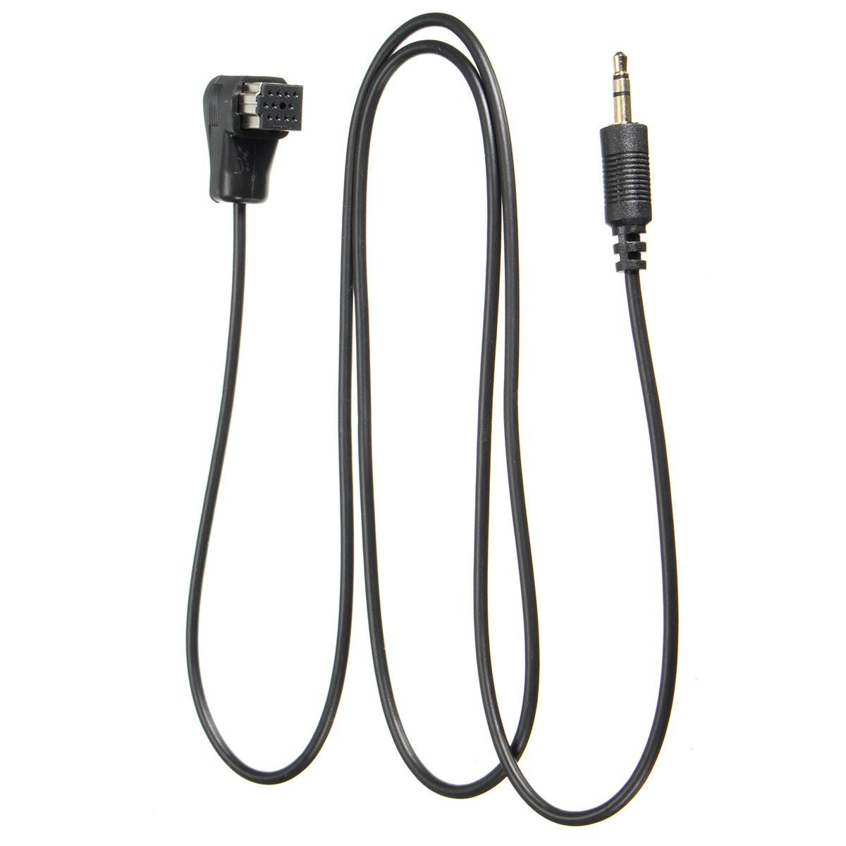 3.5mm AUX Input Cable to Car Pioneer Stereo Headunit IP-BUS Input Adapter