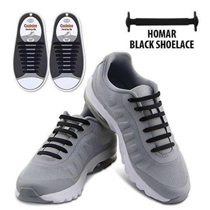 Easy No Tie Shoelaces Elastic for baby -1 pair