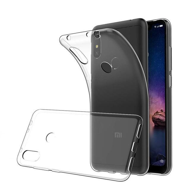 TPU Silicon Back Case for Redmi Note 5 Pro - Transparent