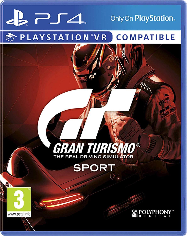 Gran Turismo Sport - The Real Driving Simulator Gaming CD PS4
