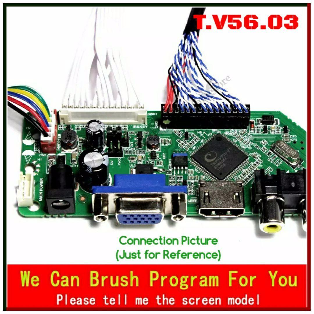 T V56 Universal LED LCD TV Mother Board