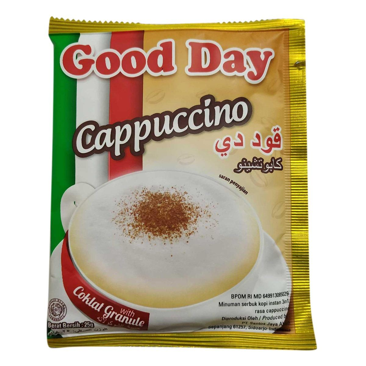 Good Day Cappuccino 3 in 1 Instant Coffee- 25gm