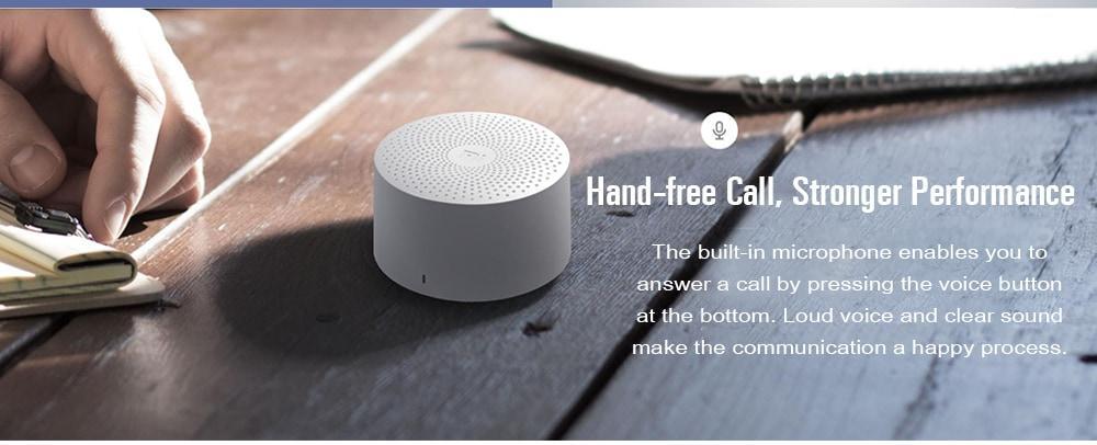 Original Xiaomi MDZ - ZB - DE Portable Bluetooth Speaker- White