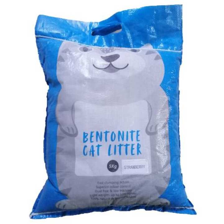 Bentonite Clumping Cat Litter 5Kg